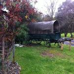 A real covered wagon!