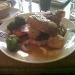 one meal we had at the Felin Fach Griffin