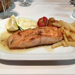 Cal Tonet's delicious grilled salmon