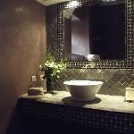 salle de bain chambre Hajjama