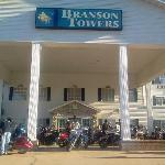 Branson Towers entrance area