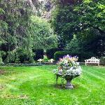 The side yard of the Barnwell Inn, Mark's hobby