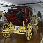 Mail Stage Coach That Ran from Burnside to Monticello