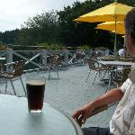 Terrasse agréable pour boire & manger