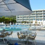Poolbereich des Hotels