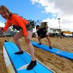 Alysha Surf Lesson