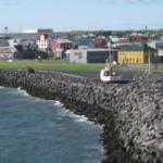 View from hotel toward Keflavik