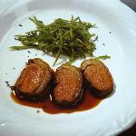 Lamb Medailions with Green Beans