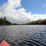 kayaking on loon lake
