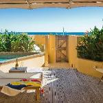 Beachfront Studio with Plunge Pool