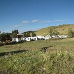 RV Parking Campground in Rear Acres