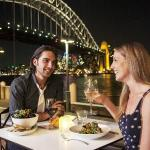 Harbourside dining at it's best