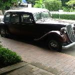 The hotel car