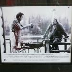 Picture of Dan Akroyd and John Candy hanging out on bass lake from movie GREAT OUTDOORS