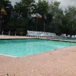 Pool Area with Grim