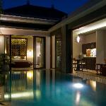 One Bedroom Pool Villa - evening
