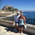 Corfu town is lovely,2.90€ by green bus just outside stars