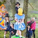 Mad Hatter birthday party at Kilnsey