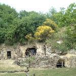 Entrée du Souterrain-refuge du Moyen-Age