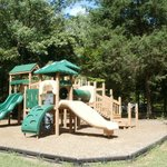 Playgrounds throughout camping area