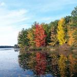 Fall on Lake Dubbonet