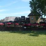 View of Paddy's padio.