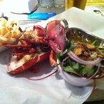 lobster - steamed - at Lobster and Burger