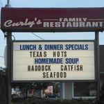 Foto de Curly's Family Restaurant