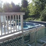 The Hot Tub at Country Roads Campground