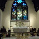 "Tiffany's ""Adoration of the Shepherds"" and Altar"