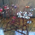 beautiful glassworks display