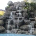 Fountain at the pool