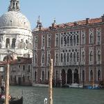 View from across the Grand Canal with St. Maria in the background