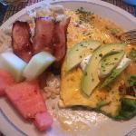 Breakfast first morning