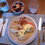 Breakfast second morning