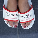 Harmony slippers - dont mind the crinkly toes