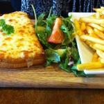 Croque Vegetarian