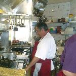 le chet jean-louis poujol aux cuisines