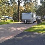 Big paved RV sites