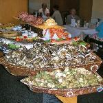 Buffet de fruits de Mer du Samedi soir