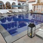 ambiente da piscina