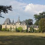 Le château coté parc