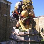 Fruit-Up of one of the Seasons by Philip Haas