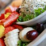 Chicken Salad Fruit Platter