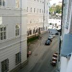 View From Room, Looking Towards Mozartplatz