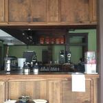 Front of the coffee bar