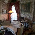Bright Victorian parlor