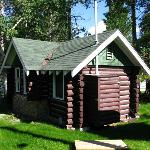 Cabin from the back