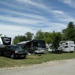 Pull Through Camp Sites