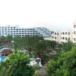 Half the hotel